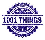 Joint texturisé grunge de timbre de 1001 CHOSES illustration libre de droits