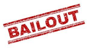 Joint texturisé grunge de timbre de RENFLOUEMENT illustration libre de droits