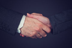 Joint venture business handshake Royalty Free Stock Photography