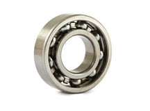 Jointed ball bearing. On white background Royalty Free Stock Images