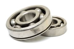 Jointed ball bearing Royalty Free Stock Image