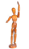 Jointed wooden man figure Royalty Free Stock Photos