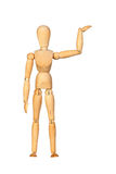 Jointed wooden mannequin royalty free stock photography