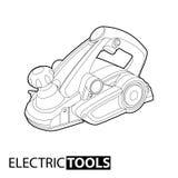 Jointer plat électrique illustration de vecteur