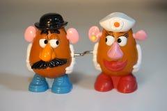 Jointif à la hanche - têtes de pomme de terre Photos libres de droits