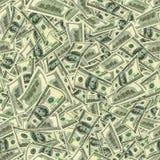 Jointless textur av dollar som ett symbol av vinst Royaltyfri Fotografi