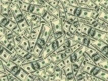 Jointless textur av dollar som ett symbol av vinst Arkivbilder