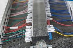 Joints de câble Photo stock