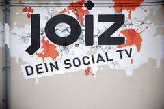 Joiz社会电视 免版税图库摄影