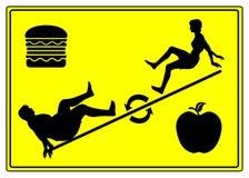 Jojo het Op dieet zijn royalty-vrije illustratie