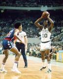 Jojo White, PAGE de Panthéon pour les Celtics de Boston Photographie stock