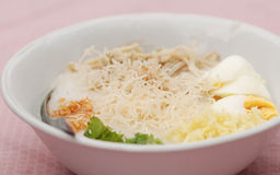 Jok Kai (Thai Chicken Porridge) Stock Photography