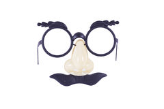 Joke Face. A plastic funny face type of mask Stock Photo