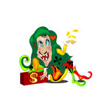 Joker vektor illustrationer