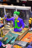 Joker-action figure. Image of Joker action figure on sale at Comi Con Convention royalty free stock photography