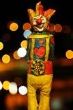 Joker avec le fond de lumière de tache Photographie stock