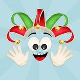 Joker cartoon. Illustration of funny joker cartoon stock illustration