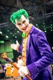 Joker Cosplay royalty free stock photo