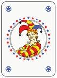 Joker de cercle illustration stock