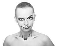 Joker de fille Photo libre de droits