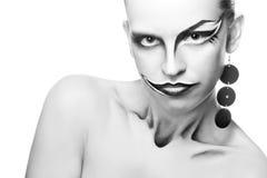Joker de fille Photo stock
