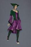Joker dziewczyna Fotografia Stock