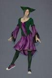 Joker dziewczyna Zdjęcia Stock