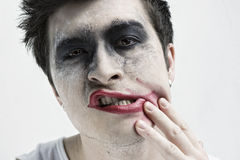 Joker face Stock Photos