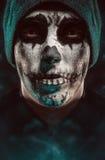 Joker foncé de masque Photos stock