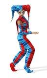 Joker Girl Royalty Free Stock Photography
