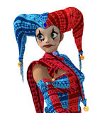 Joker Girl Stock Images