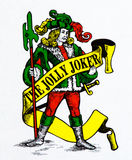 Joker illustration Royalty Free Stock Image