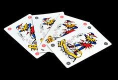 Joker karty Fotografia Stock