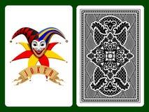 joker karty grać Zdjęcie Stock