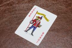 Joker op laag Royalty-vrije Stock Afbeelding