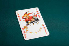 Joker playing card Stock Photo