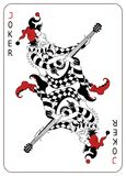 Joker Playing Card. Separately Grouped Royalty Free Stock Images