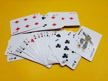Joker. Playing cards with joker Stock Photo
