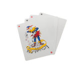 Joker playing cards. On a white background stock image