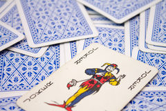The Joker on Playing Cards Royalty Free Stock Image
