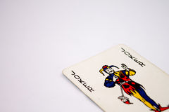 The Joker Playing Poker Cards Stock Photos