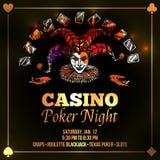 Joker Poker Illustration Royalty Free Stock Photo