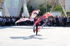 Joker show Milan,milano expo 2015 Stock Photo