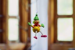The joker toy. House interior Stock Image