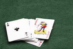 Joker W paczce Fotografia Stock