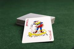 Joker W paczce Zdjęcia Stock