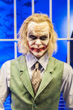 The joker (the wax version) stock photography