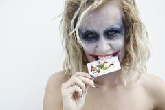Jokerframsida 2 Arkivfoton
