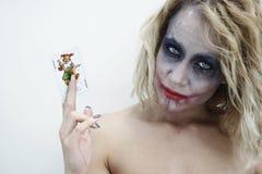 Jokergezicht 6 Stock Foto