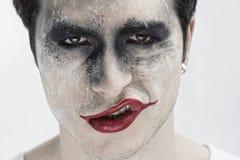 Jokergezicht Royalty-vrije Stock Afbeeldingen